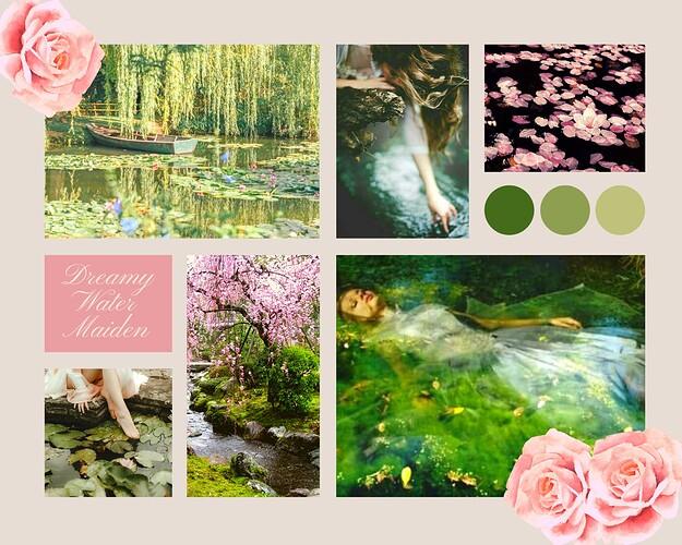 Moodboard - Dreamy Water Maiden