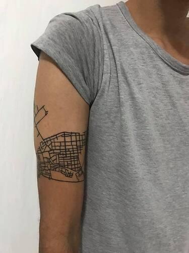 Gallery of 118 Impressive Architecture Tattoo Designs - 70
