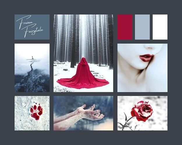 Moodboard - Frozen Fairytale