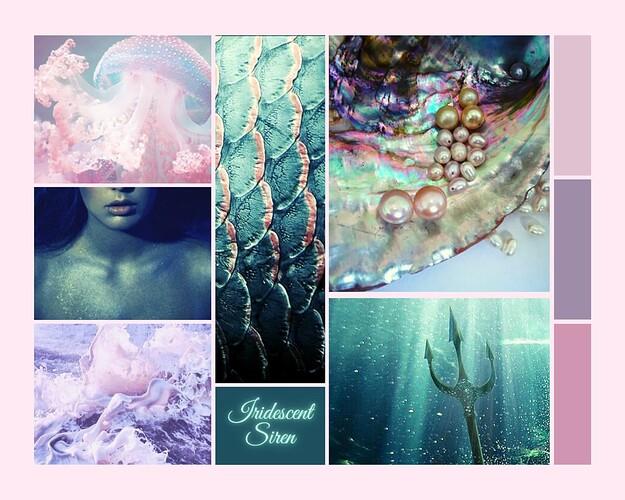 Moodboard - Iridescent Siren