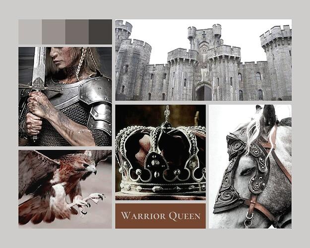 Moodboard - Warrior Queen