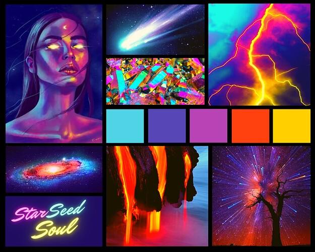 Moodboard - Star Seed Soul