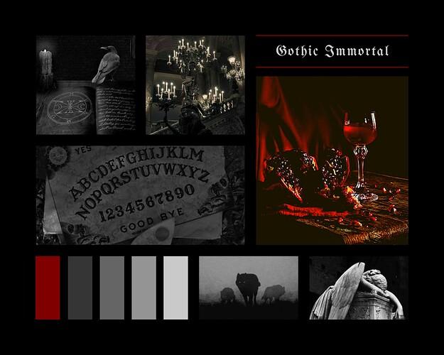 Moodboard - Gothic Immortal