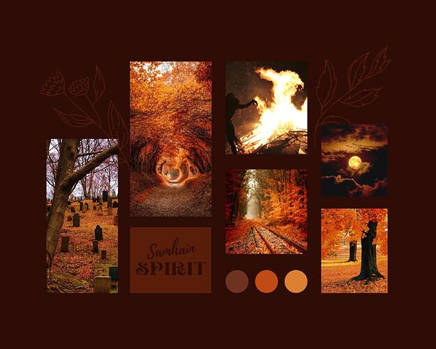 Moodboard - Samhain Spirit