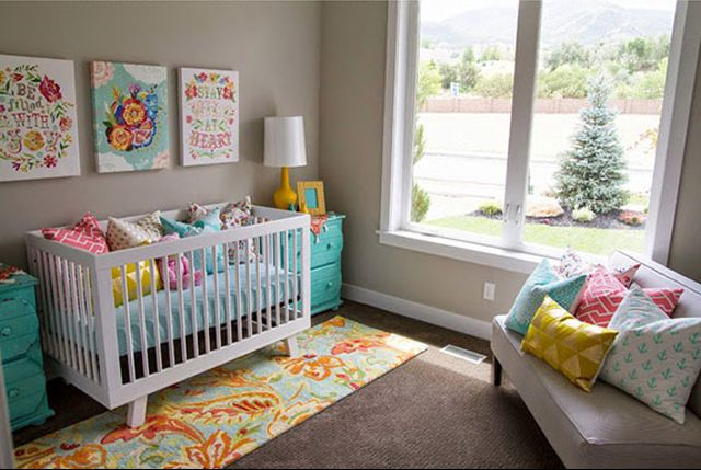 23 Ways to Create a More Colorful Nursery